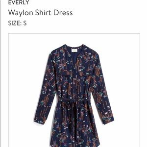 Waylon Shirt Dress - Everly